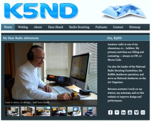 The 2012 version of the K5ND website, so last year.